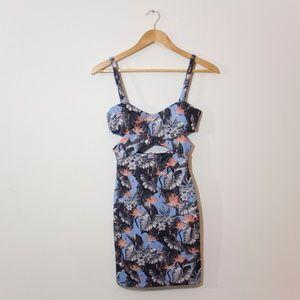Topshop Bird of Paradise Flowers Dress